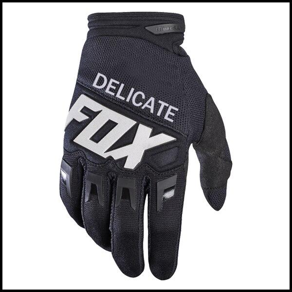 Delicate Fox 360 Dirtpaw Mx Motocross Racing Bike Full Black Gloves Home