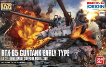 Original Gundam Model HG 1/144  RTX-65 GUNTANK EARLY TYPE Unchained Mobile Suit THE ORIGIN GTO Kids Toys купить недорого в Москве