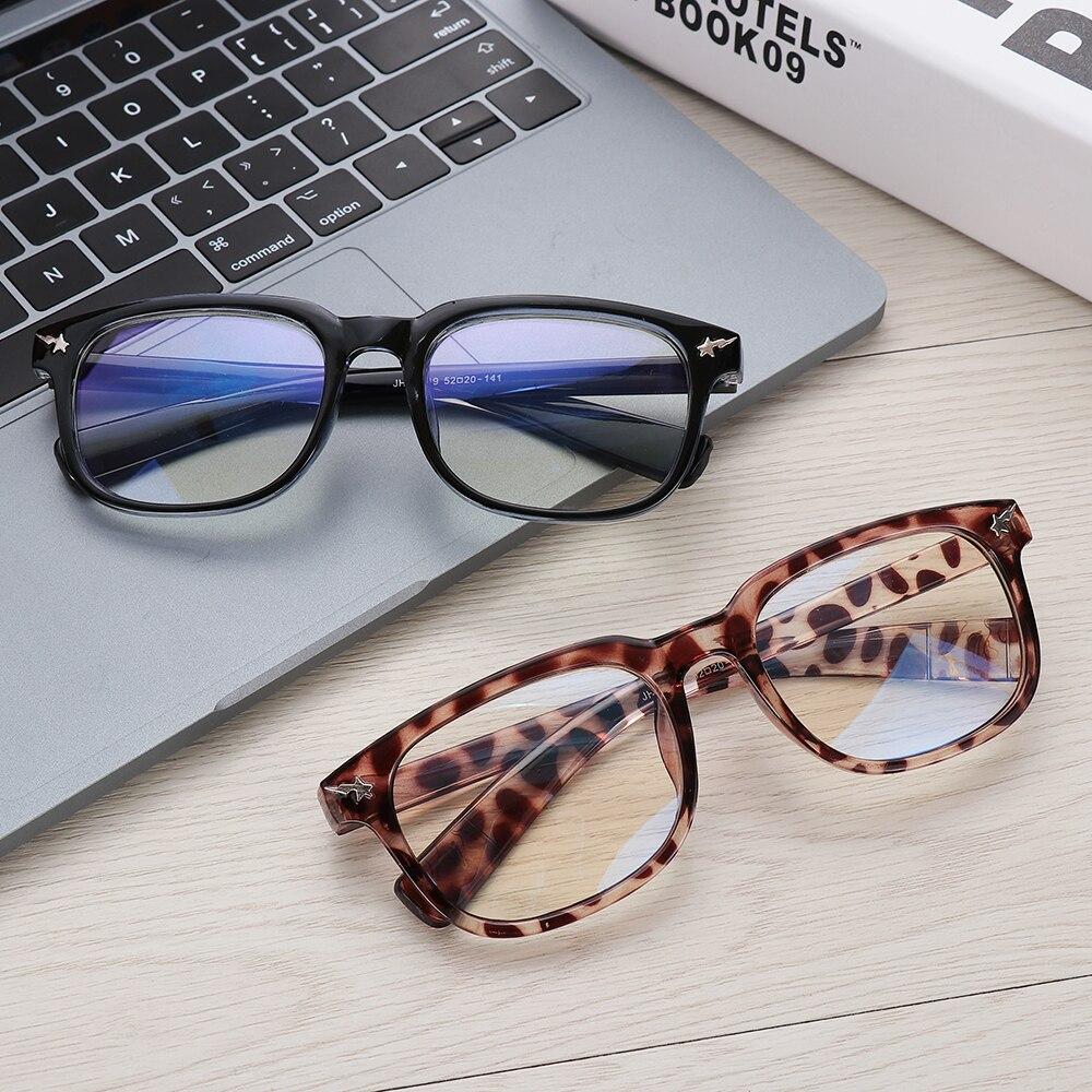 Eyeglasses Computer-Goggles Radiation-Protection Flat-Mirror Gaming-Reading Anti-Uv Unisex