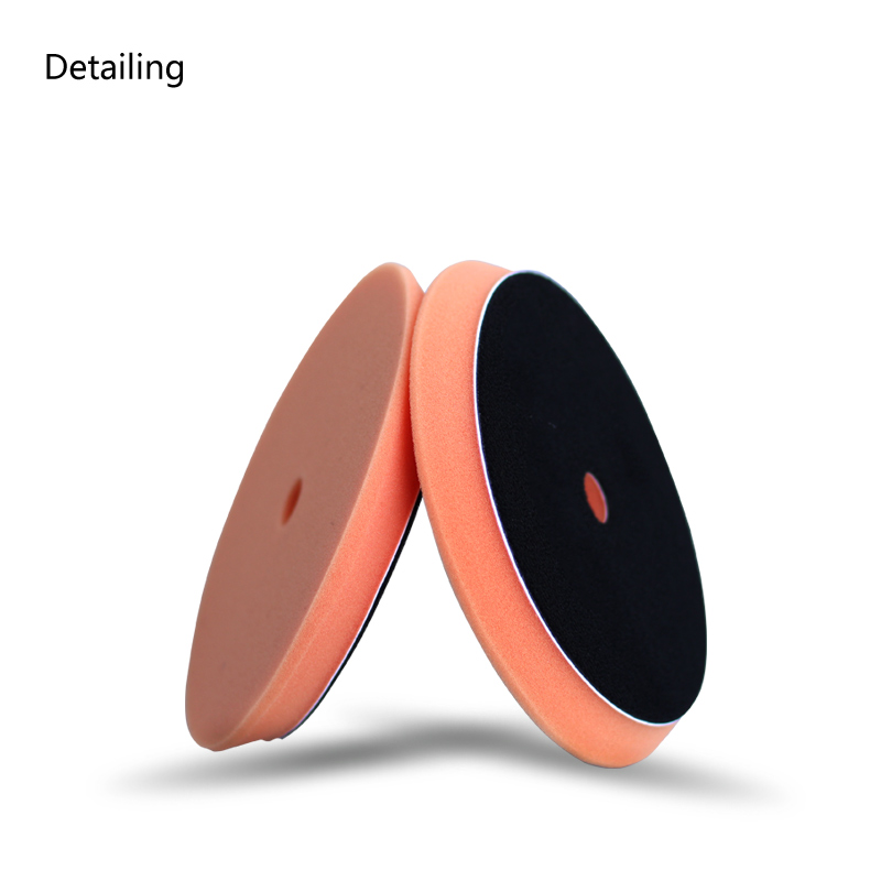 US $6 86 |DETAILING Bevel Edge Foam Buffing Pad Polishing Pad 5 Colours for  Rupes Polisher, Dual Action Polisher Orange for Polishing-in Waxing Sponge