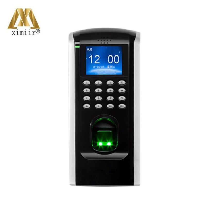 Herrlich Sf200 Farbe Bildschirm Fingerprint Tcp/ip Fingerprint Access Control/fingerprint Access Manipulations-proofs Schalter Und Alarm Ausgänge