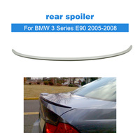 Ongeverfd Pu Tuning Spoiler Wing Voor Bmw 3 Serie E90 2005-2008 Auto Achterspoiler Auto Styling
