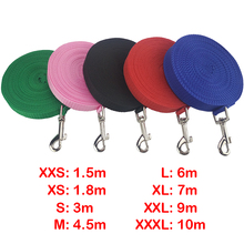 Hot Sale Pet Dog Rope Durable Nylon Leash Dog Leashes for Large Small Dogs Cats Outdoor Walking Pets Supplies 5 colors