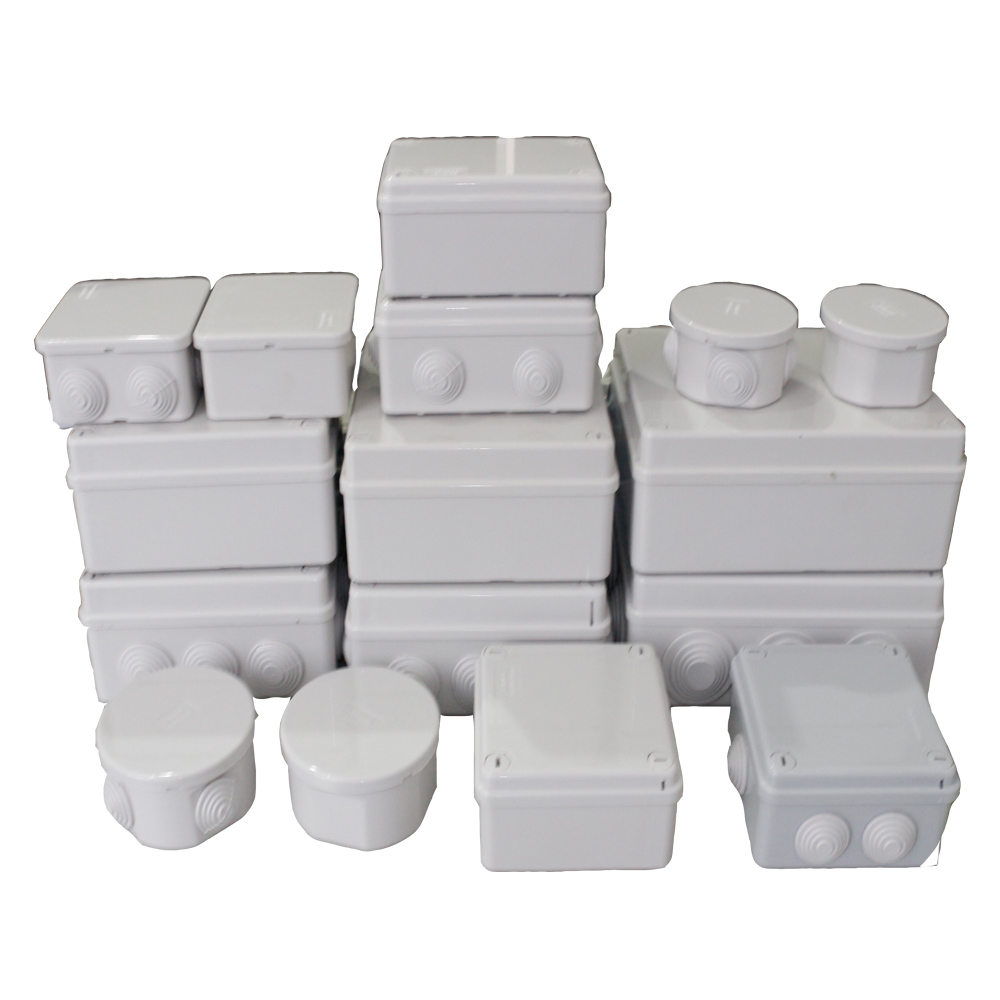 Waterproof Junction Box Wholesale ABS Plastic IP65 DIY Outdoor Electrical Connection Box Cable Branch Box 150x150x70mm