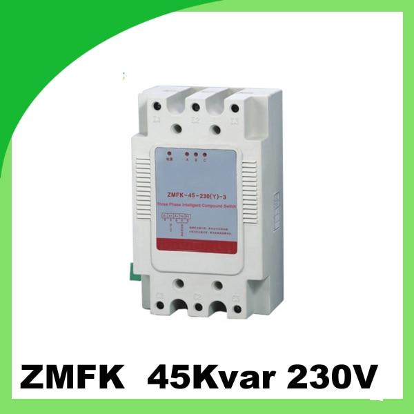 ZMFK y type connection thyristor switch with power factor correction capacitor 30kvar 45kvar 230v