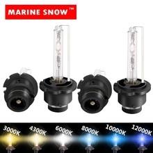 MARINE SNOW xenon 2pcs Xenon Bulb D2S D1S D3S DSS HID Bulb CBI HID headlight bulb D1 D2 D3 D4 D1R D2R D3R d4r headlamp light цена