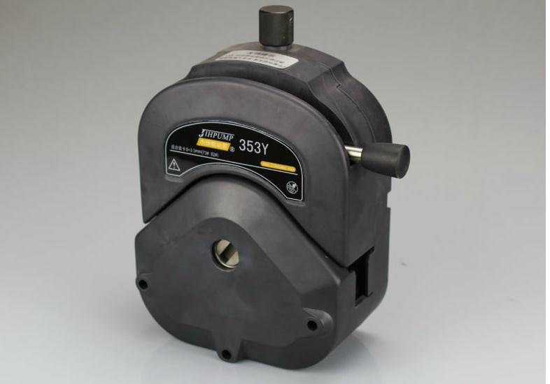 353Y Easy-load Pump Head Is Less Than Or Equal To 12L/min Large Flow Peristaltic Pump Head Strong Corrosion Resistant High Stren