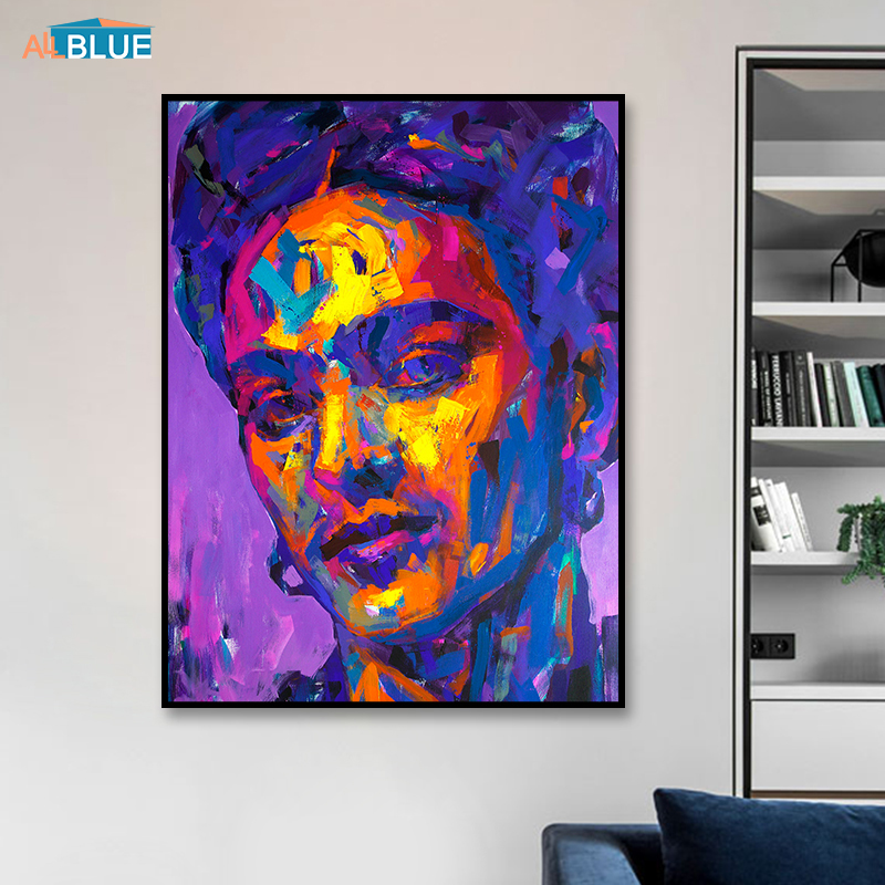 Skup Tanie Portret Pł Oacutetno Frida Kahlo Wall Art Canvas