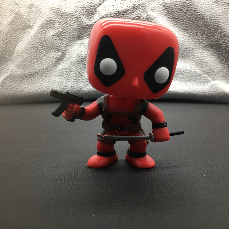 10cm Super heros Deadpool POP Action Figure Toy For kids Christmas Gifts No Color Box