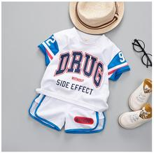Summer Toddler Boy Sports Wear Clothing Set Children Football Uniforms Clothing Basketball T-shirt Boys Suit Kids Clothes kids summer clothes boys set 2017 football print boy sports suit number letter t shirt drawstring shorts boy clothes sets cf432 page 1