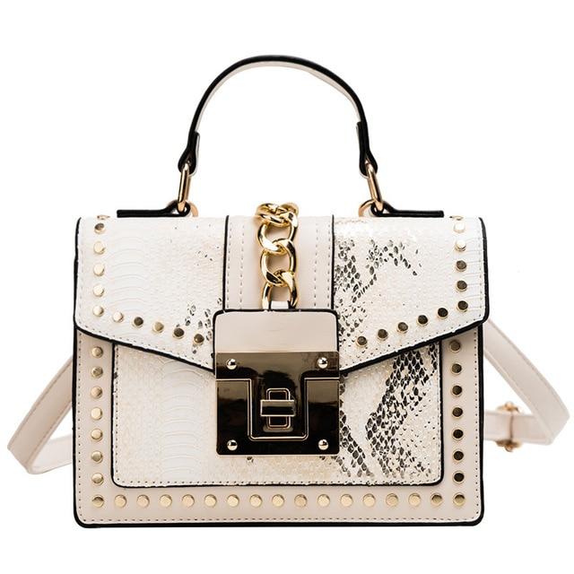 Sacs à main en cuir PU Design pour femmes, sacs à bandoulière de bonne qualité avec fermeture éclair, petites chaînes à rabat, 2020