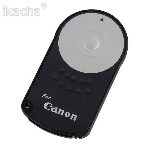 Macchina fotografica senza fili IR A Distanza di Controllo RC-6 Per CANON 600D 650D 450D 500D 550D 750D 5D 6D 7D 4