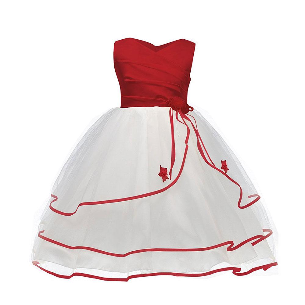banquete de boda de la princesa vestido de la muchacha ropa formal