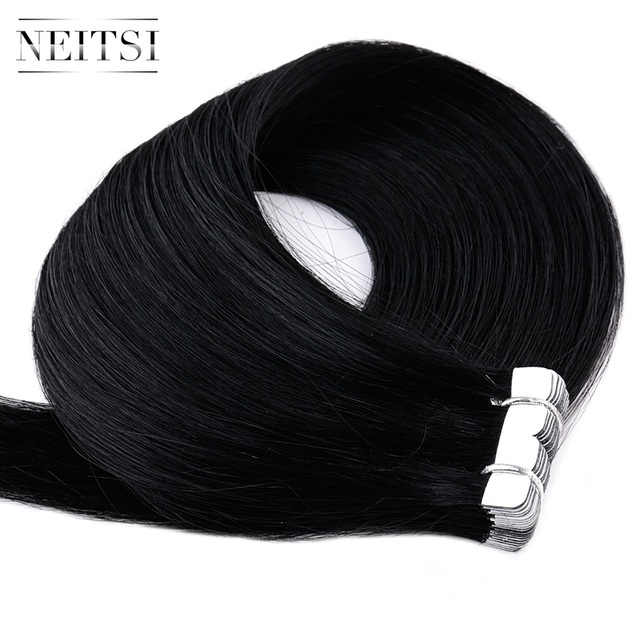 Neitsi Mini Tape In Human Hair Adhesive Extensions 12 3