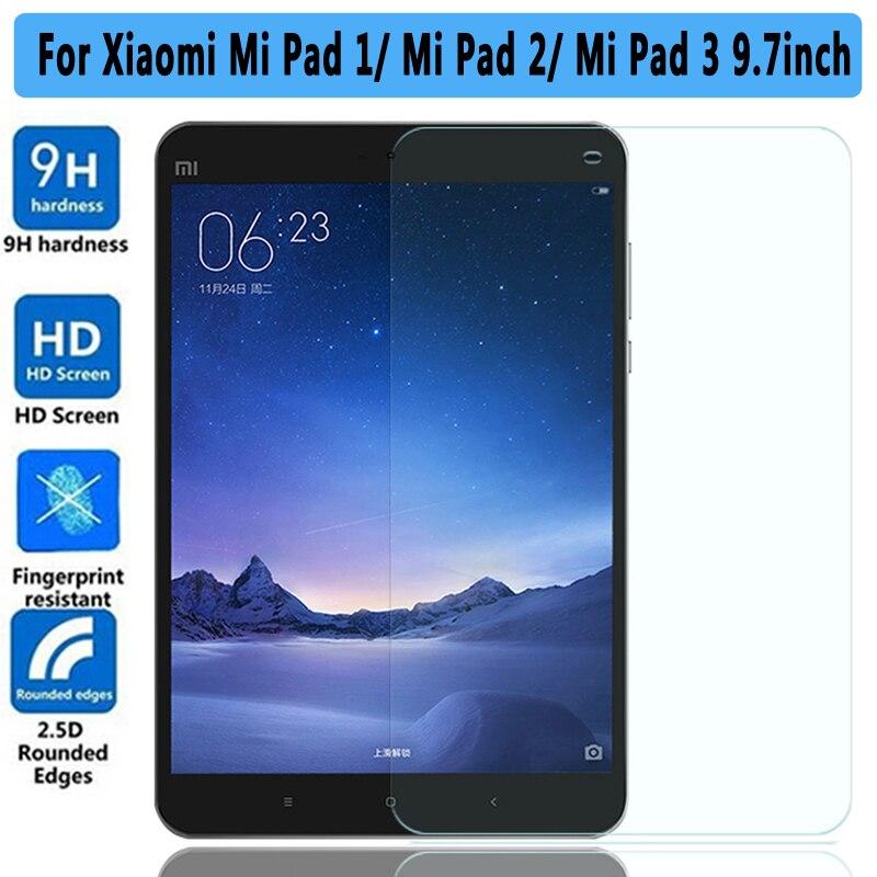 100% High Quality 9H Tempered Glass for Xiaomi Mi Pad 1 2 3 Screen Protector For Xiaomi Mi Pad 3 2 1 7.9 inch Tempered Glass весна милана 5 со звуком в2203 о