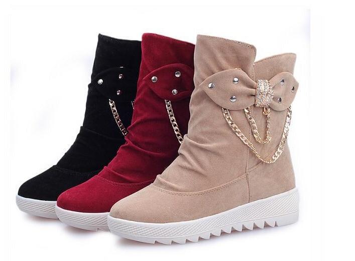 Aliexpress.com : Buy 2015 New Women Warm Winter Snow Boot Shoes ...