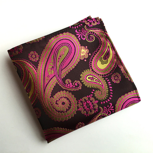Colorful Paisley Pattern Variety of Handkerchiefs