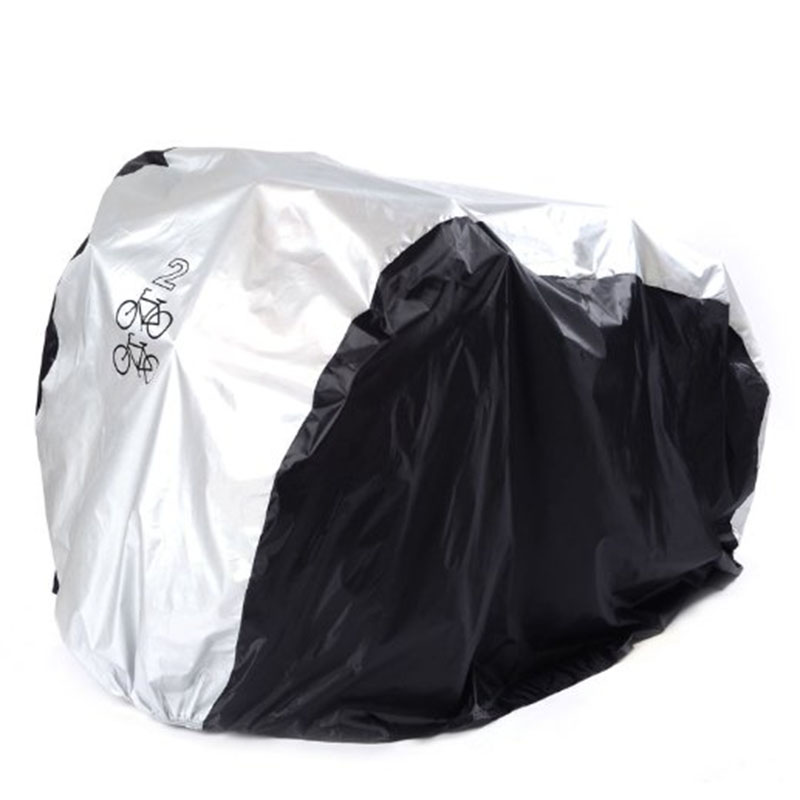 New Waterproof Bike Cover UV Snow Proof Bicycle Outdoor Rain Protective Covers For 1/2/3 Bikes XD88
