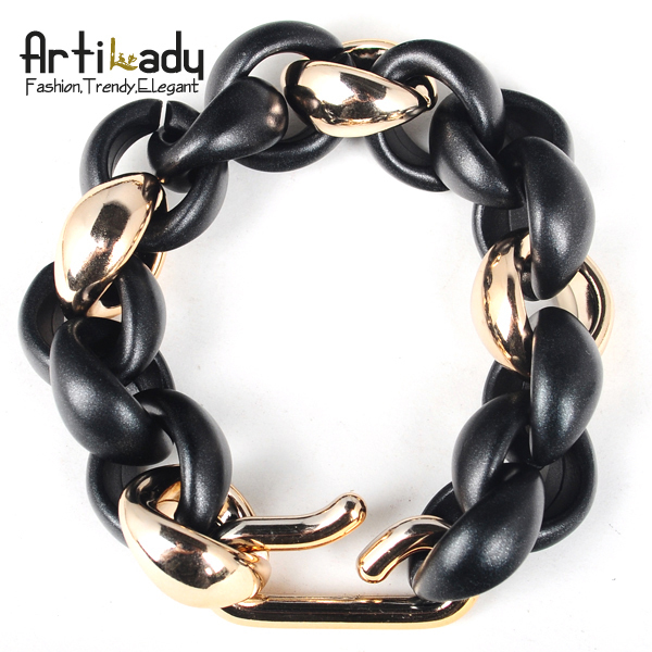 Artilady long chain bracelet 2014 new arrivral simple bracelets women jewelry christmas gift