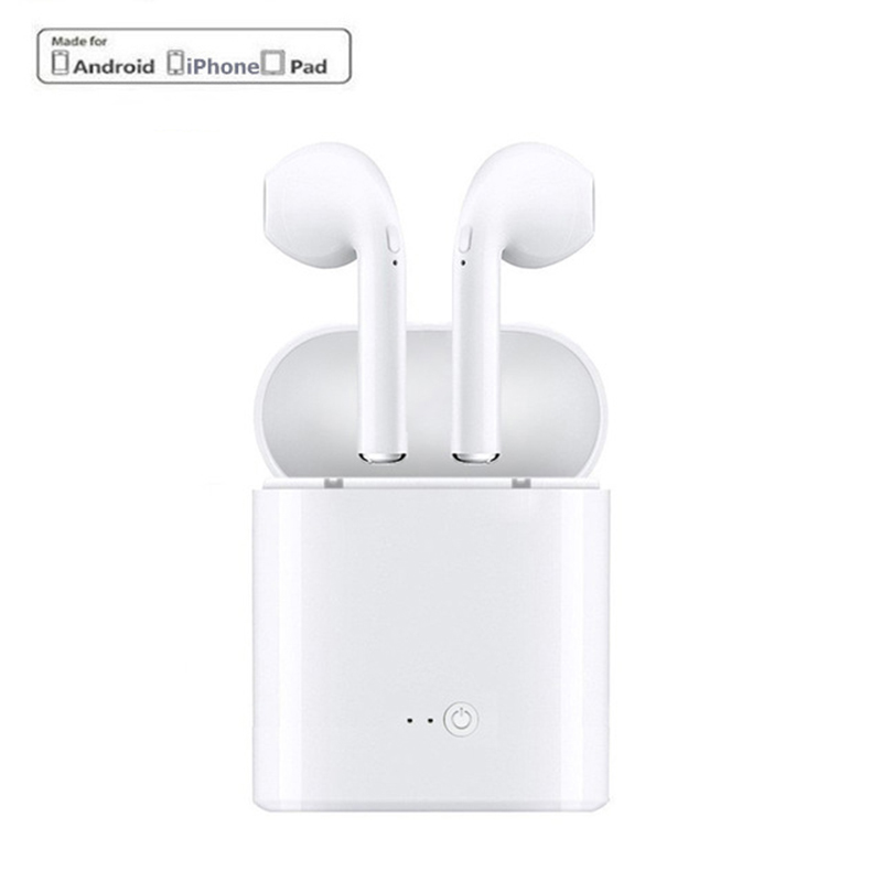 Mini i7s TWS Wireless Bluetooth Kopfhörer Headset Mit Ladegerät Box für iPhone Ios Android Blutooth Earbuds Stereo Ohrhörer fone