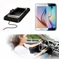 HOT Big Anti Slip Car Pad Mat Qi Wireless Charger for Samsung Galaxy S7 Edge Note5 and Qi-enabled Devices USB Car Phone Holder