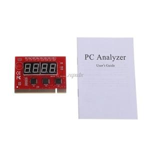 Image 3 - 新しいコンピュータ pci ポストカードマザーボード led 4 桁の診断テスト pc アナライザ whosale & ドロップシップ