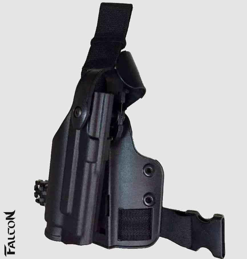 Étui tactique de marque FS pour G19 Airsoft avec lampe de poche BD2289
