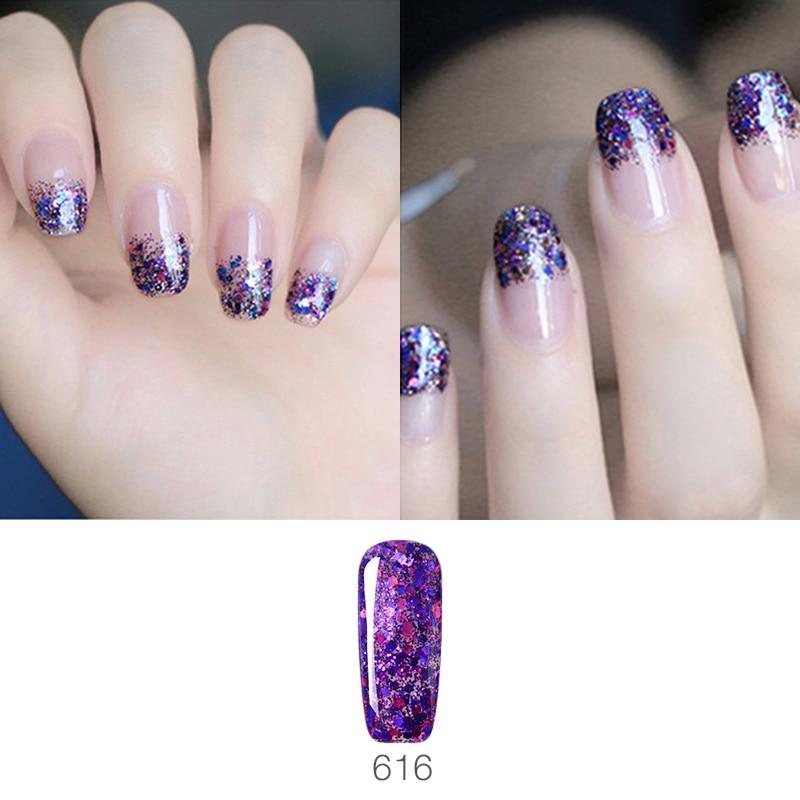 Vrenmol Gelpolish Hybrid Diamond Glitter Gel Nail Polish UV Nail Art - Маникюр - Фотография 6