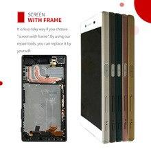 Ограниченное предложение 100% первоначально для SONY Xperia Z5 ЖК-дисплей Сенсорный экран для SONY Xperia Z5 Дисплей планшета Ассамблеи E6653 E6603 E6633 ЖК-дисплей с рамка