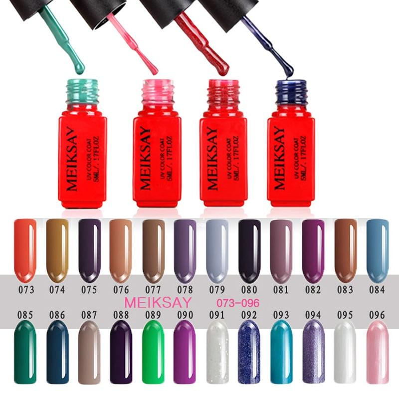 Vernis semi permanent 5ml uv gel nail polish soak off uf for Idee deco vernis semi permanent