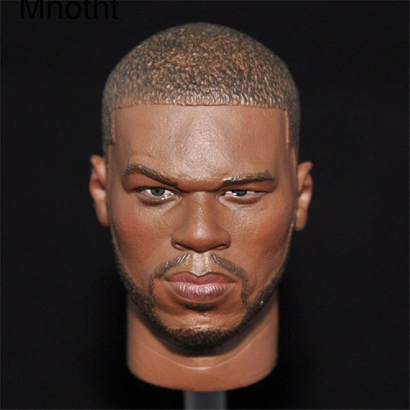 Mnotht  1/6 Black Curtis Famous Star Head Sculpt For 12 Action Figure Body L30 HEAD MODEL mnotht toys 1 6 emilia clarke head sculpt carving model for 12 figure peaktoys pt002 presale toys l30