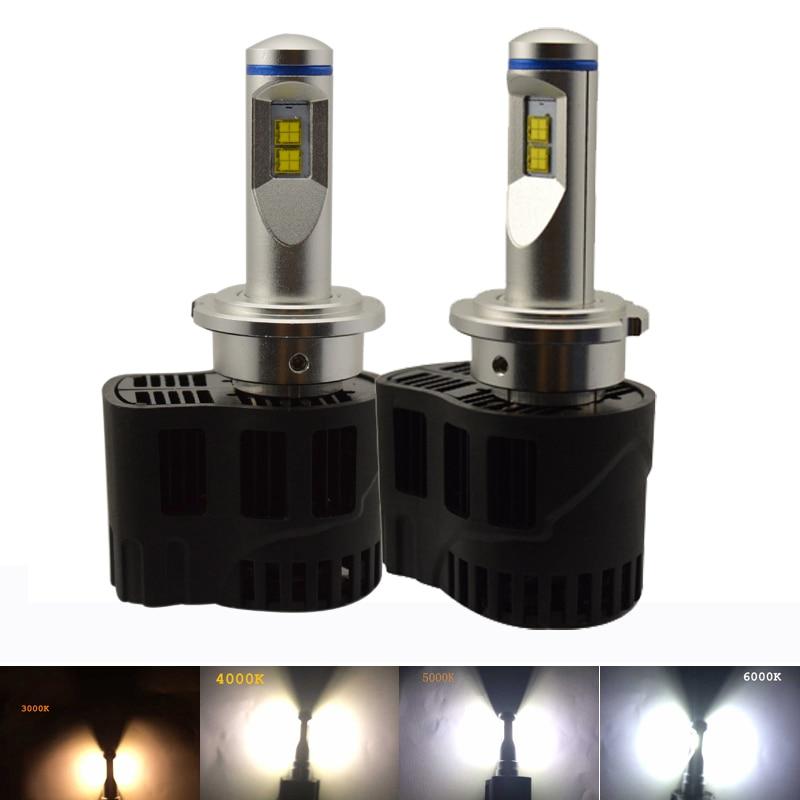 Aluminium alloy 12V dc canbus led headlight bulb conversion kits 55W 5200LM for D1 D2 D3 D4 D1S D2S D3S D4S D1R D2R D3R D4R led юбка silvian heach cvp17338lo navy