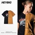 2017 Primavera nueva colección de hip hop T-shirt Búho estilo Mixto Tee Hombres Unió Piezas tamaño Asiático! los hombres camisa de algodón de La Calle Principal