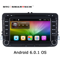 SMARTECH 2 Din 7 Inch Car Multimedia Player Android 6 0 1 OS Quad Core For