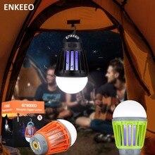 Enkeeo портативная электроника, Отпугиватель комаров, многофункциональный отпугиватель вредителей, походный светильник, лампа с USB зарядкой, садовый светодиодный отпугиватель комаров