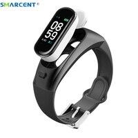 2019 H109 Smart bracelet Headphones Bluetooth Earphones Blood Pressure Heart Rate Oxygen Fitness Tracker Pedometer Smartband