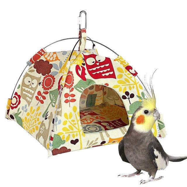 Small Pet Tent Bird Nest Hamster Chinchillas Hanging Hammock Parrot Tent hot sale bird cage jaulas para pajaro