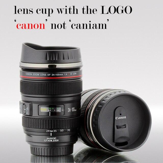 New Design Wholesale Camera Lens Tea Coffe Mug Cup Thermo Mug