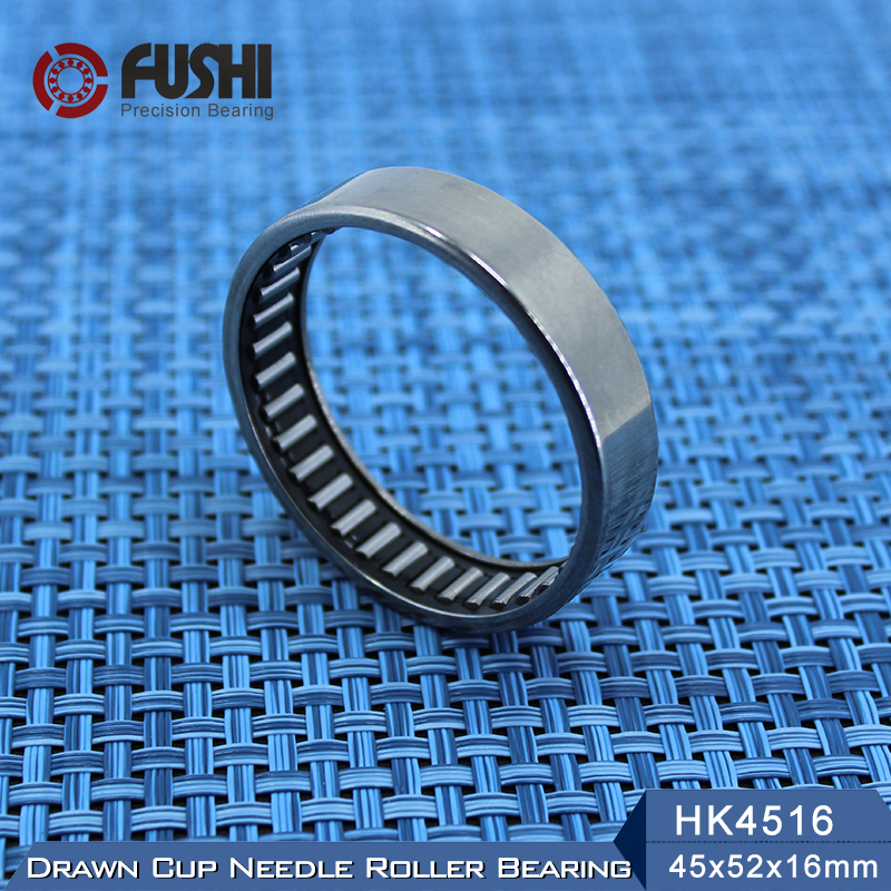 HK4516 Needle Bearings 45*52*16 mm ( 5 Pcs ) Drawn Cup Needle Roller Bearing TLA4516Z HK455216 47941/45 bk3038 needle bearings 30 37 38 mm 1 pc drawn cup needle roller bearing bk303738 caged closed one end