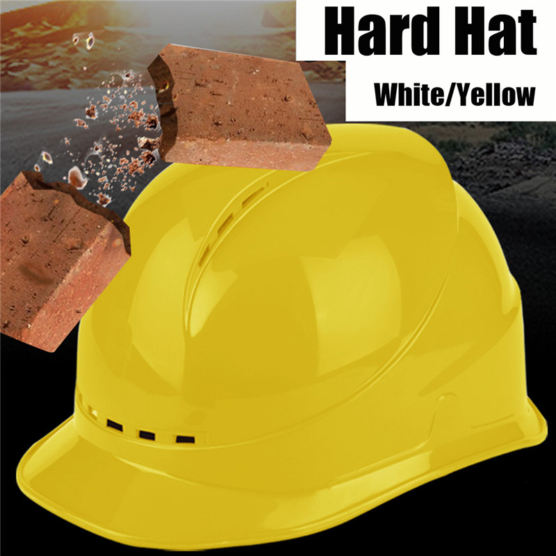Wide Brim Hard Hats Breathable Safety Work Helmet Construction Hard Hat Helmets Workplace Safety Supplies Protective Helmet wide brim straw hat
