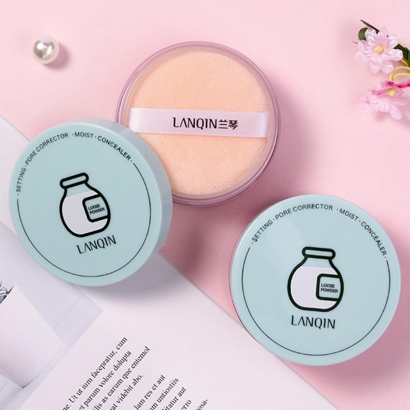 New Brand Makeup Powder Cute Cartoon 2 Colors Loose Powder Face Makeup Waterproof Loose Powder Skin Finish Powder