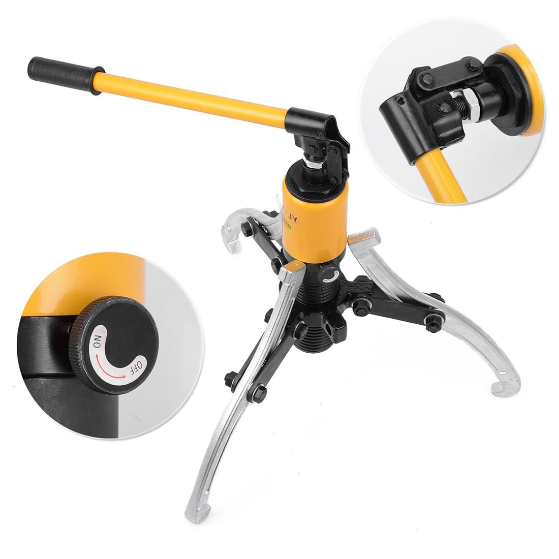 heavy duty t hidrulico prtico conjunto separador de rolamento da engrenagem extrator ferramenta hub kit mandbulas