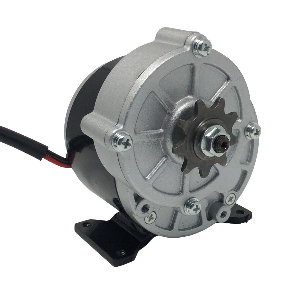 My1016z3 dc scooter motor 24v 36v brushed motor 350w high for 24v brushed dc motor