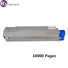Recycled for OKI C831 Toner Cartridge for Okidata  MC873dn MC873dnc MC873dnx  10000 Pages цена в Москве и Питере