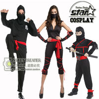 Halloween Cosplay Costume Dad Mom Son Festival Masquerade Fancy Suit Kids Christmas Party Clothing Set Family Matching Outfits
