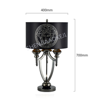 Modern table lamp Living room bedroom bedside lamp European creative light luxury new classical modern study table lamp 220V