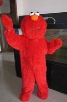 Red Elmo Halloween Cartoon Character Costume Cosplay Mascot Custom Products Custom Made S M L Xl