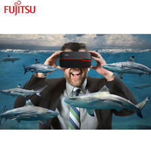 Fujitsu Rift 3D Virtual Diffraction 3D Glasses for Console Video Game and 4K 3D Viewing with