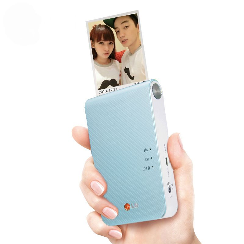 Android iOS smartphone color printer, mini wireless bluetooth photo printer, pocket color photo printer PD251 PD238 PD239 image