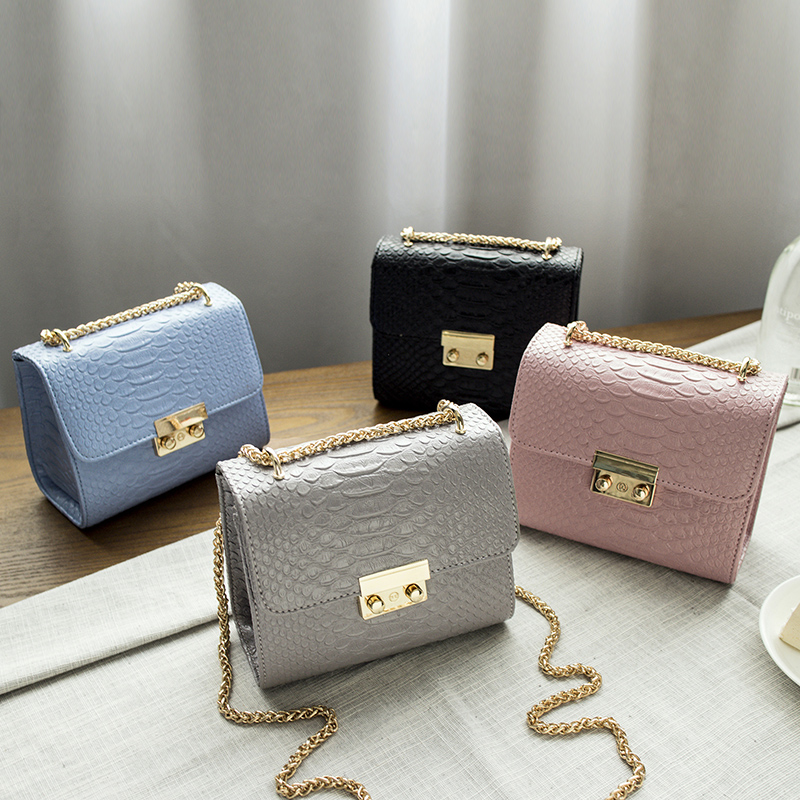 Small Women Bag Simple Alligator Crocodile Leather Mini Women Crossbody Bags Shoulder Sling Purse Lady Handbag alligator crocodile leather mini women crossbody bags small women bag sling lady messenger shoulder bag purse lady handbag